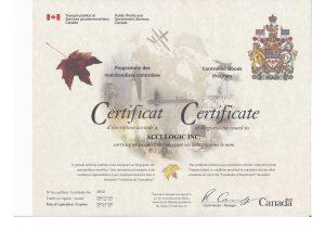 Controlled Goods Program Zertifikat